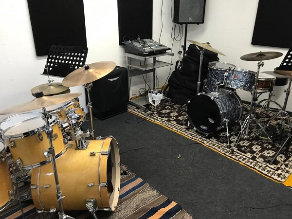 New Drum Teaching Studio in Todmorden