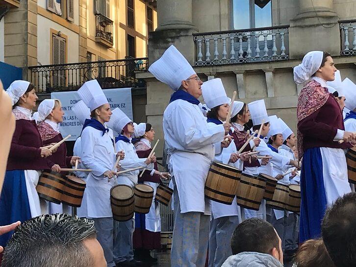 24-house drum festival San Sebastian