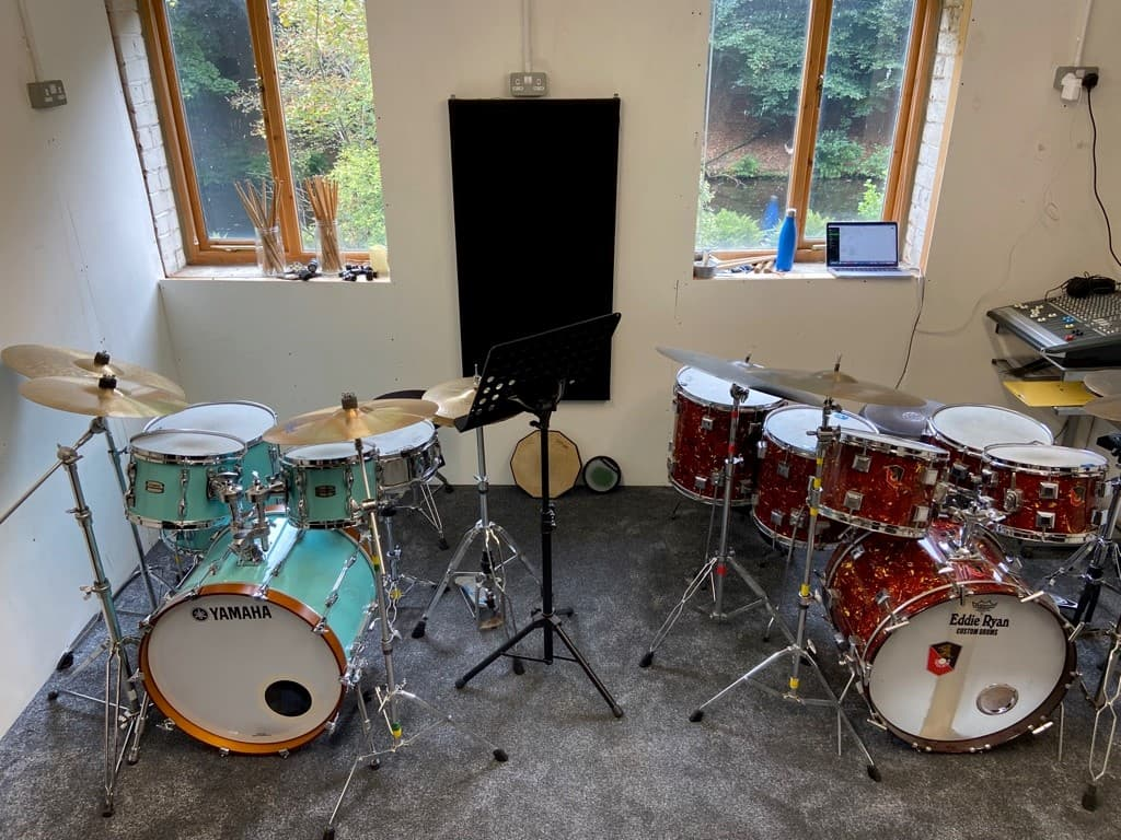 Face to face drum lessons